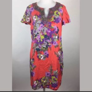 Boden - Stunning Tunic Style Floral Dress - 6P